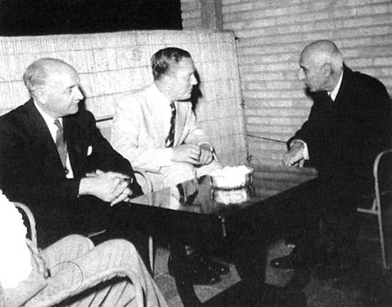 British and American ambassadors