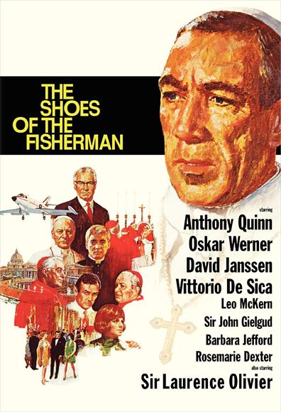 "THEOCRACY ON SCREEN: Anthony Quinn is Pope in ""The Shoes of the ..."