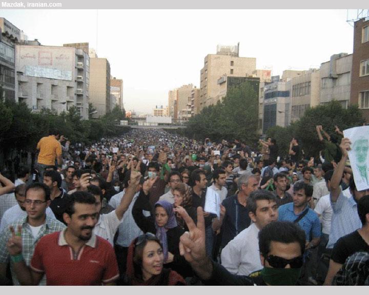 manifestation à Téhéran (19 juillet)